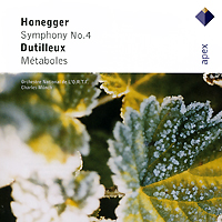 Charles Munch Honegger Symphony No 4 / Dutilleux Metaboles Серия: Apex инфо 5852b.
